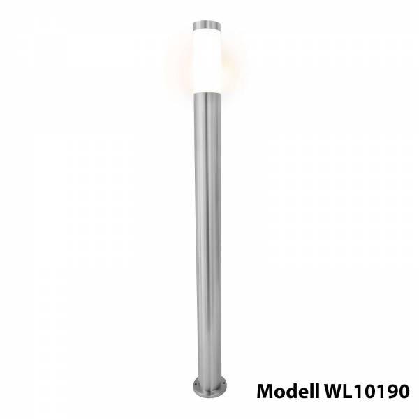 Grafner Edelstahl Wegleuchte 10S11 Gartenlampe 110 cm