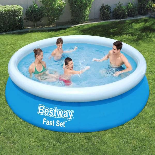 Bestway Fast Pool Set mit Filterpumpe 366 x 76 cm 57274