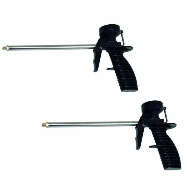 2 Schaumpistolen für Pistolenschaum / Montageschaum