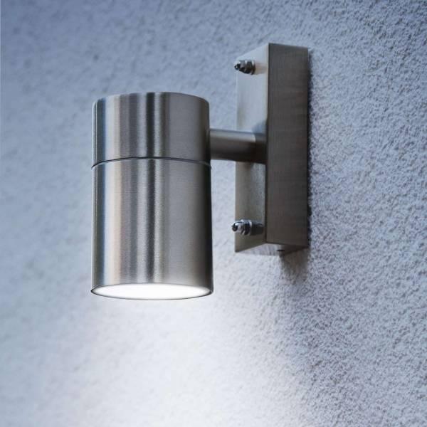 Grafner® Edelstahl Wandlampe 26B Wandleuchte Lichtschein Down/Unten
