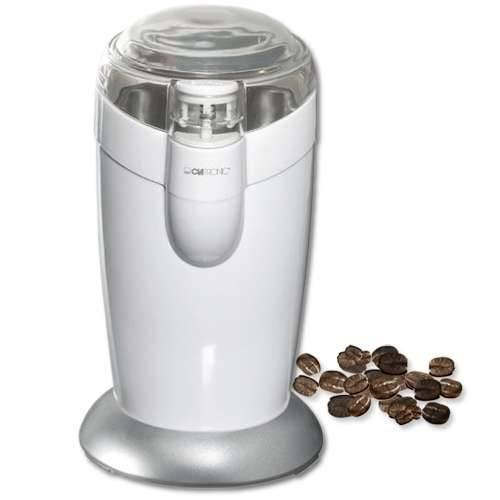 Clatronic KSW 3306 Elektrische Kaffeemühle in weiß