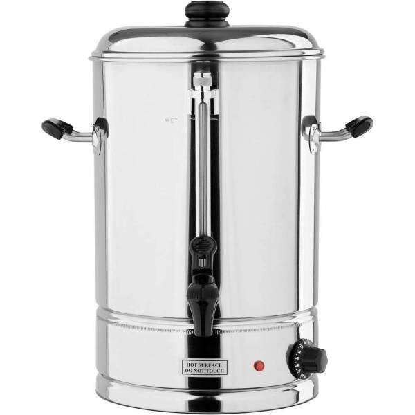 YATO Profi Edelstahl Heisswasserbehälter YG-04316 12Ltr. 2500Watt Heißgetränkeautomat Glühweinkocher