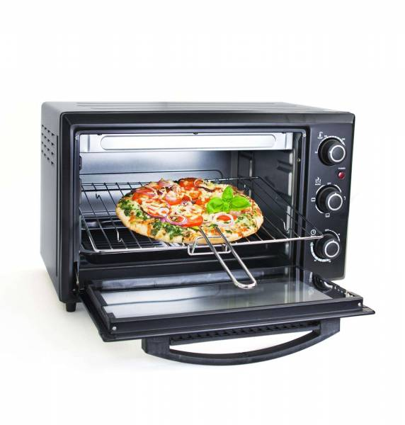Grafner Mini - Ofen 30 Liter 1500 Watt Mini Backofen Pizzaofen