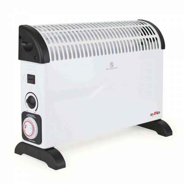 Grafner® Konvektor Heizgerät 2000 Watt mit 24 Std. Timer und Frostwächterfunktion Radiator