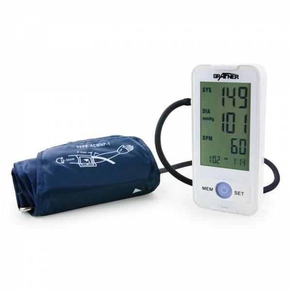 Grafner® digitales Blutdruckmessgerät für den Oberarm vollautomatische Blutdruck und Pulsmessung