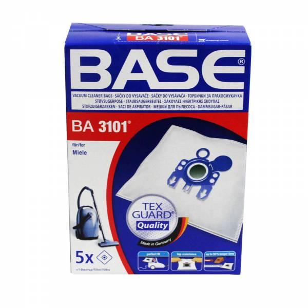 Base Staubsaugerbeutel BA 3101 passend für Miele