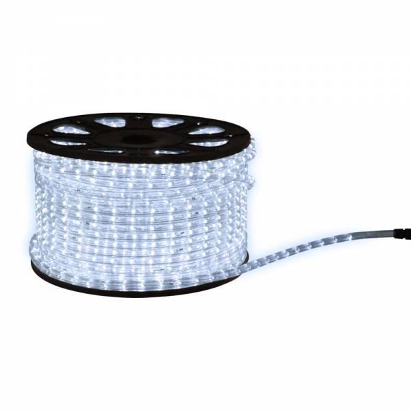 Grafner® 10 Meter LED Lichtschlauch Kaltweiss mit Anschlussset