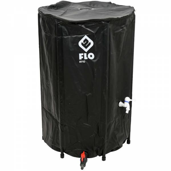 FLO Wassertonne faltbar 250 Liter PVC 89702