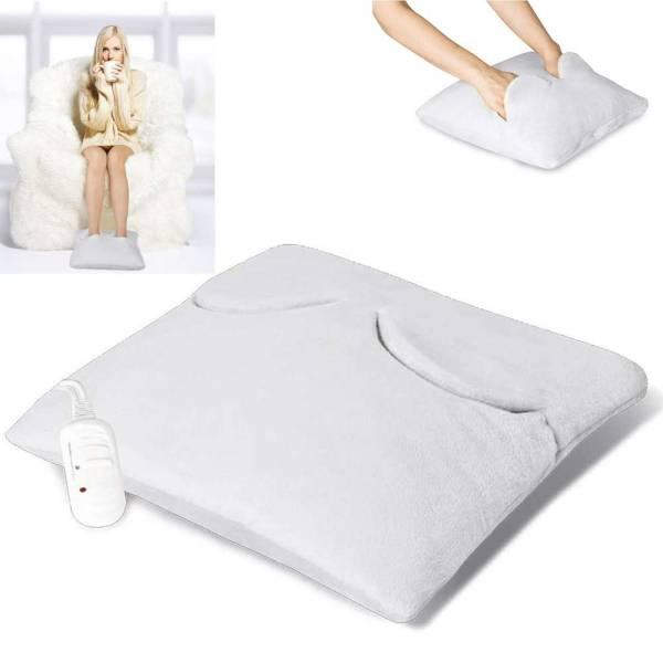 Grafner® 2in1 Fußwärmer und Handwärmer elektrisches Wärmekissen Fußwärmegerät Fußsack