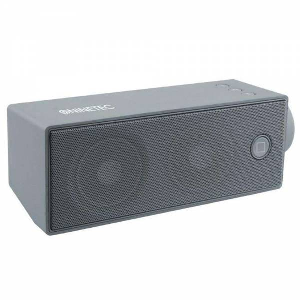 NINETEC Soundboost Bluetooth Speaker Lautsprecher Grau