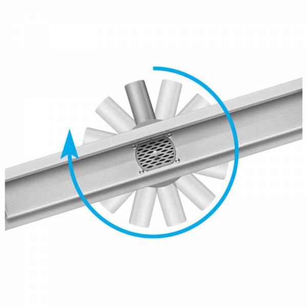 Fala Duschrinne Rotary flexibel 60cm (70mm breit) 75346