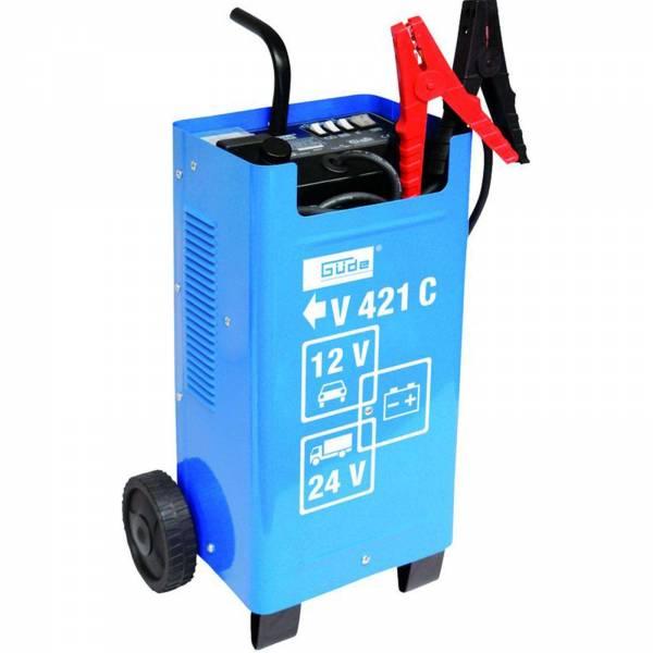 Güde 12V/24V Batterieladegerät Automatik Batterielader V 421 C Starthilfe