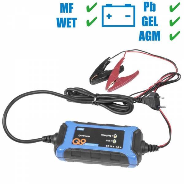 Güde 12V Batterieladegerät Automatik Batterielader GAB 1,5A