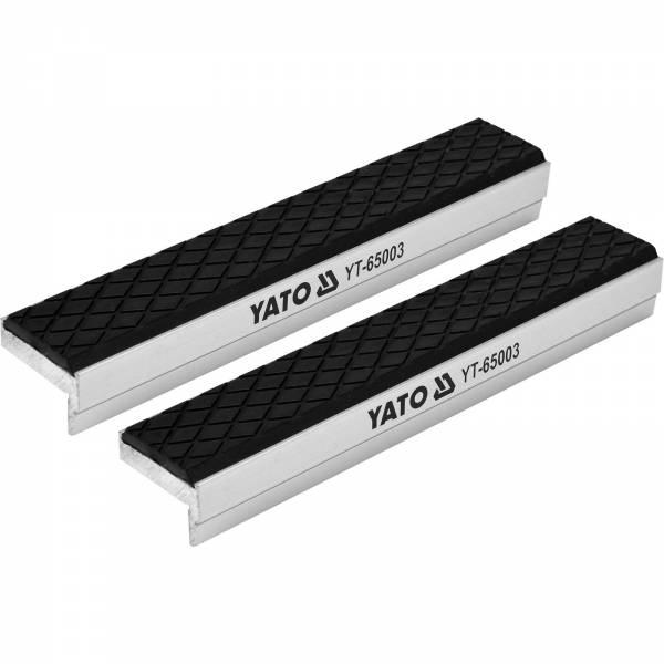 YATO Profi Schraubstock-Schutzbacken 150mm Aluminium mit Soft-Beschichtung YT-65003